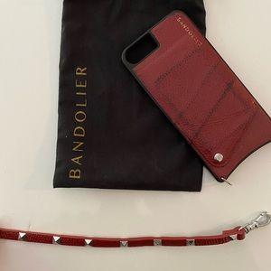 USED Bandolier Iphone 7/8+ case